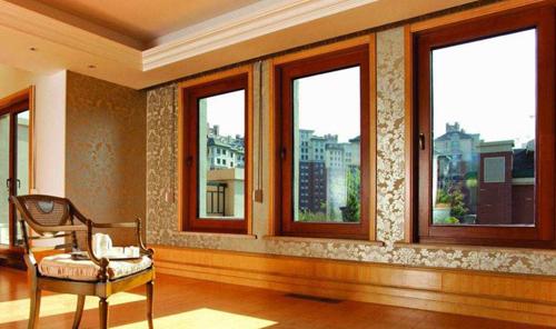 铝包木门窗制作