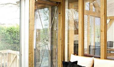 望美铝包木门窗